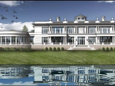 Luksuzna vila u Odincovskom kraju, Moskva